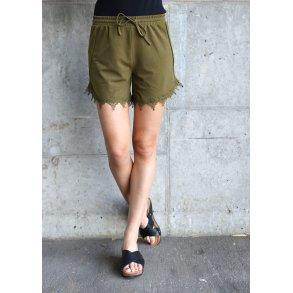 bb22cedb406 Viboudoiri shorts dark olive